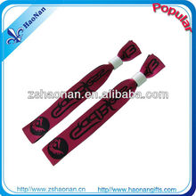 flighting RF controlled party decoration fabric wristband for great occasions