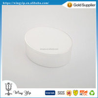 Manufacturer fancy Oval Shape White Silver Plated Metal Jewelry box for gift