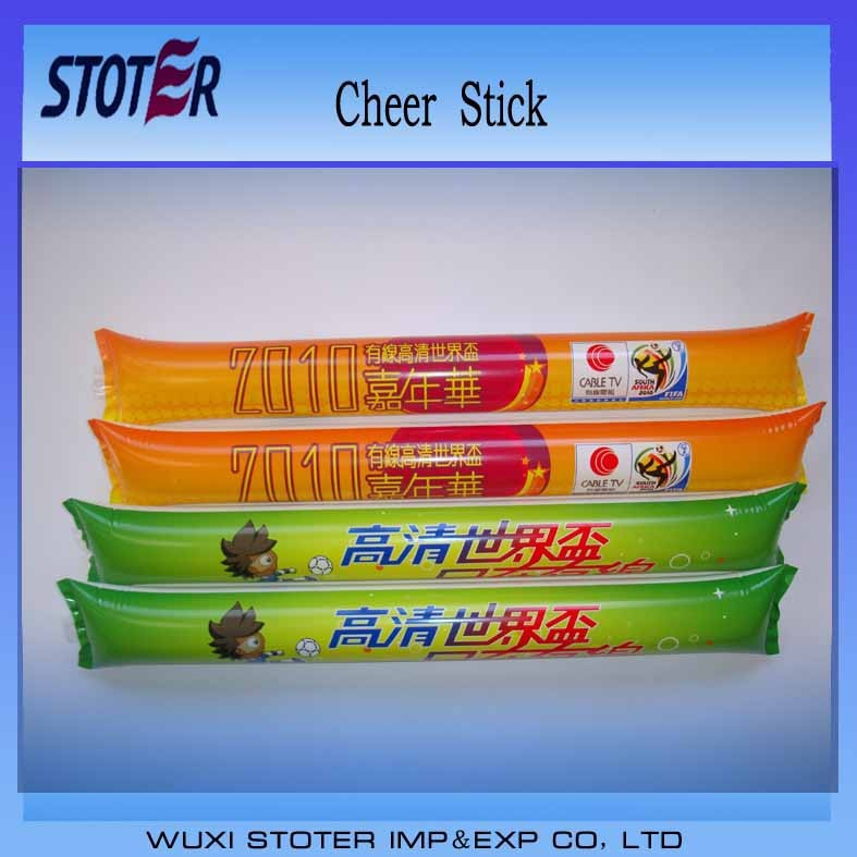 Thunder stix for promotion in sports event