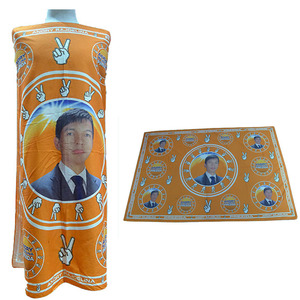 african cotton election printed kanga wax fabric for kangas with cheaper price made inChina