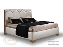 Luxury italy style bed bedroom furniture modern bed 2017 new model