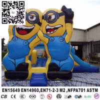 minions inflatable jumpers bouncy castle for toddlers in 1 combo