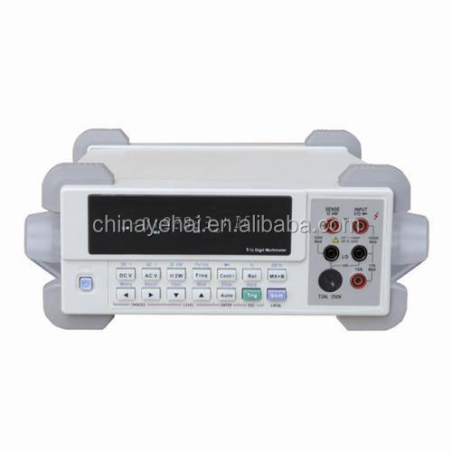 Professional high accuracy bench type multimeter 120000 counts 6 1/2 benchtop digital multimeter YH46