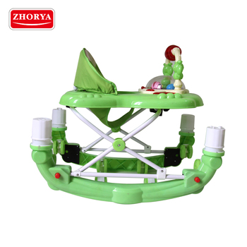 Zhorya wholesale new style high quality multifunctional baby walker with baby lighting musical toy
