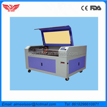 High Performance efficience 60W 80w 100w CO2 glass tube laser engraving cutting machine for leather