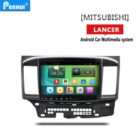 PENHUI HD screen 10.1inch android 4.4 car gps navigation for MITSUBISHI LANCER 2010-2015 Support OBD+DVR+Wifi+3G+Radio+Bluetooth
