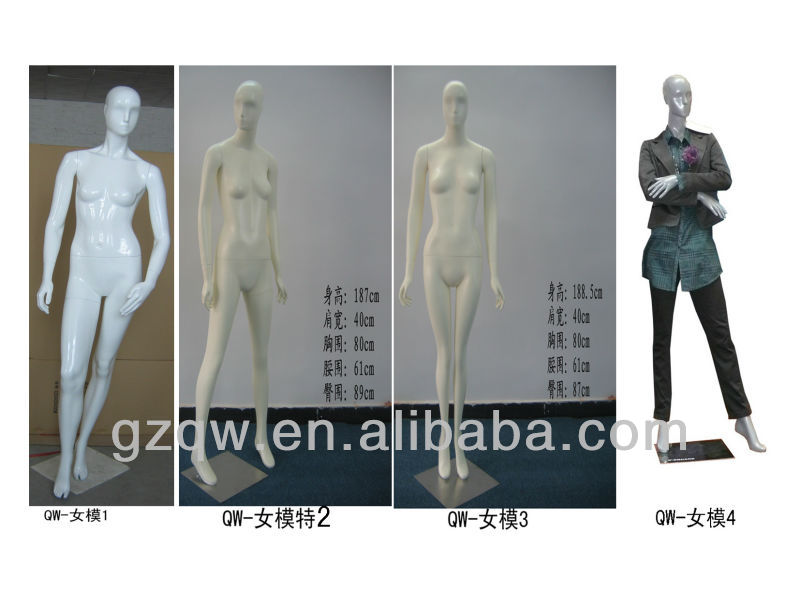 2013 fashion cheap display maniquis sales/full body female mannequin