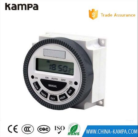 CN304A AC 220V time controller/Microcomputer control switch/Street light timer NO + NC