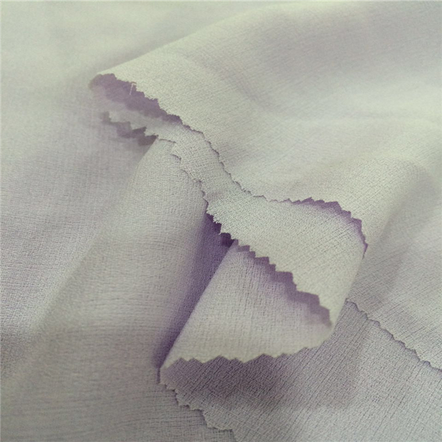 Rockcolortextile CF-605 Linen wholesale Chiffon Fabric for Fashion Women's Dress