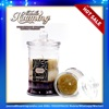wholesale scented soy wax candles in glass jar candle making supplies with lids