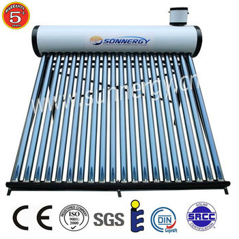 Green energy Compact galvanized Solar water heaters