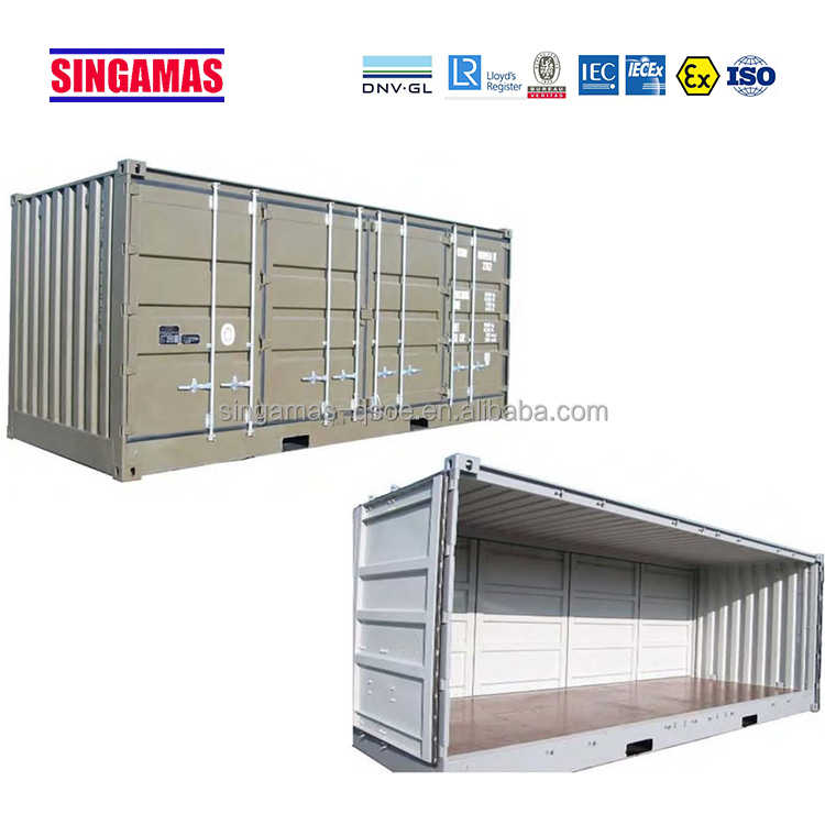 Both sides full access open side container for sale