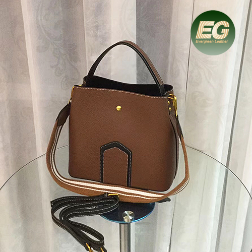 New genuine leather bag lady fashion handbag woman shoulder hand bag with cheaper price EMG5268