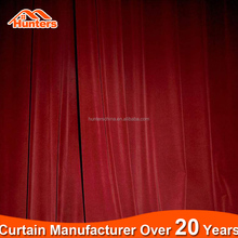 Fireproof Theatrical Drapes / stage curtain fabric theater curtains for sale
