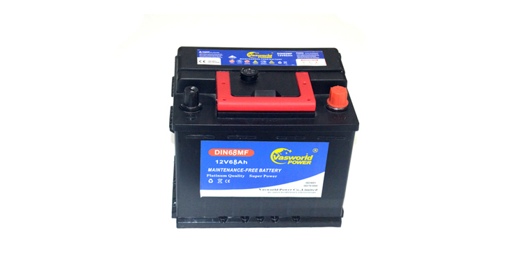 High Quanlity Sealed MF Car Batteries Made In Korea 12v68ah Car Battery Wholesale