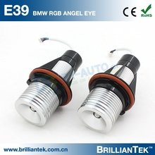 Perfect Performace 5w RGB E39 E90 LED Marker Angel Eye Car Head Light For BMW