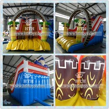 High quality inflatable dry slide