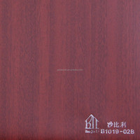 Wood Decorative Pet Film From Chinese