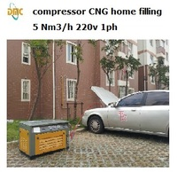 CNG compressor,Natural gas compressor 3-50Nm3/h 200bar 3600psi