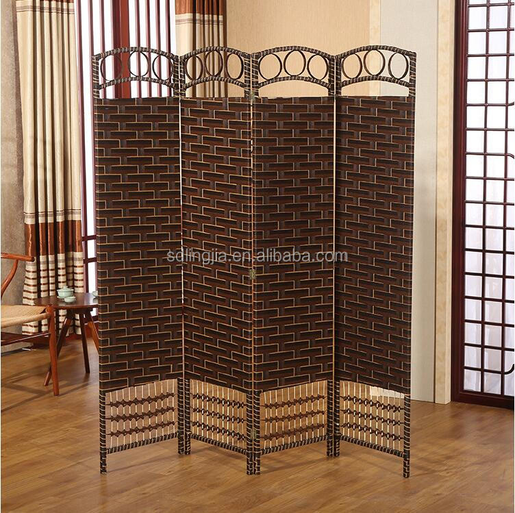 2016 Newest Modern Wood Floor Outdoor Hanging Wall Dividers