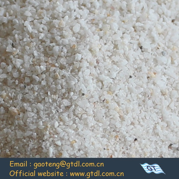 High grade silica sand for glass making