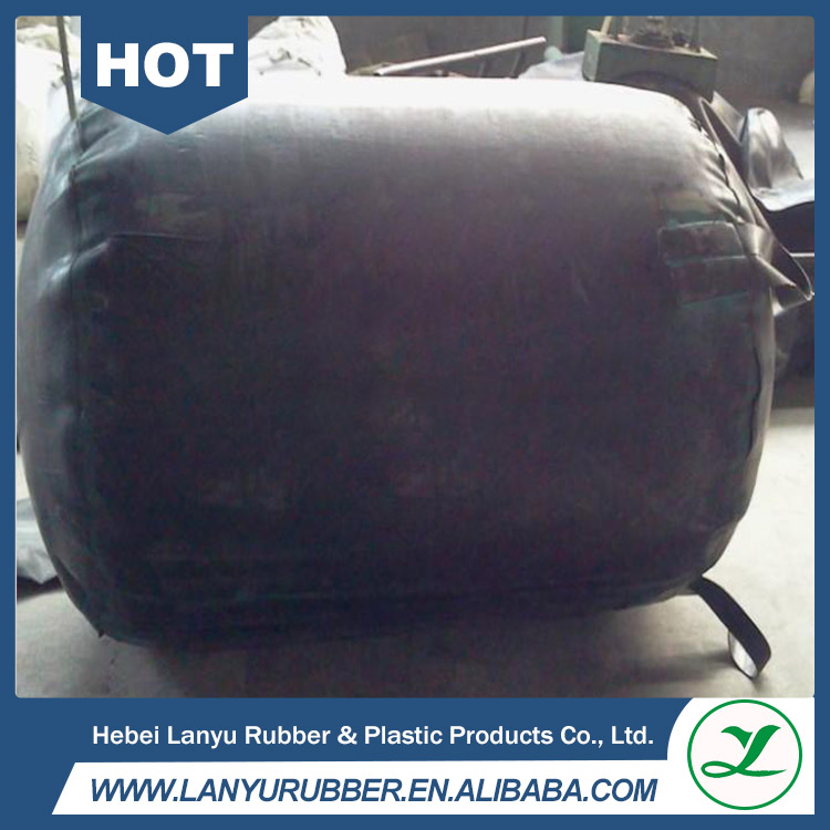 50-2400mm diameter High strength inflatable rubber air bladder
