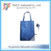 Foldable/Folding shopping bag with flower printing pattern