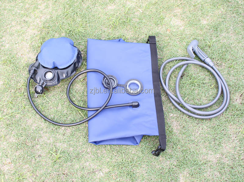 Camping solar shower used for camping and beach New C1024