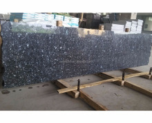 Chinese stone carving natural stone ice blue pearl granite small slab