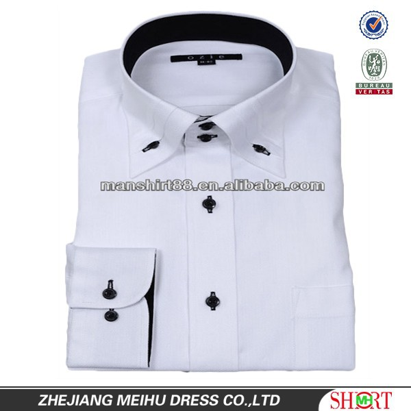 2016 men 39 s button up collar wrinkle free 100 cotton high for High end men s shirts