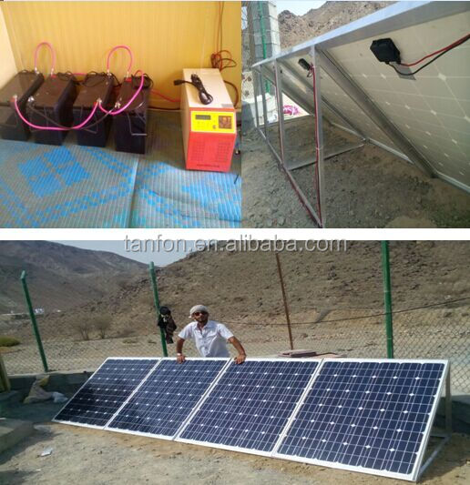 solar generator 1500w solar system/ mini projects solar power systems for home use
