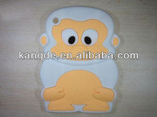monkey silicone tablet case for ipad mini/mini silicone back case