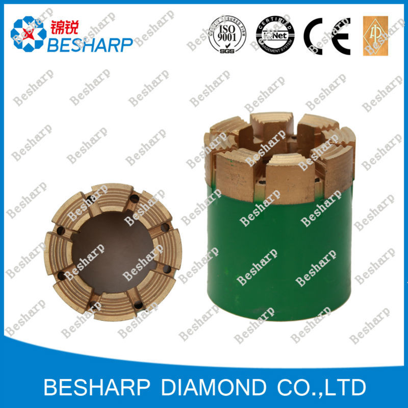 For water well drilling diamond core drill bit