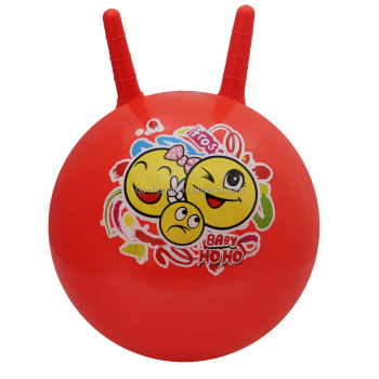 Kid's ride-on toy bouncy hopping ball with ear
