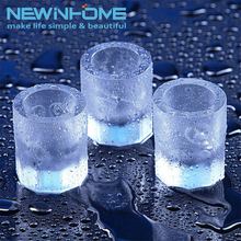 Cheap Custom Shaped Plastic Cool Shooters Shot Glass Ice Cube Tray