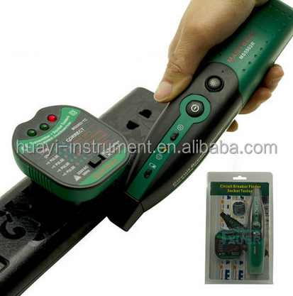 Mastech MS5902 Circuit Breaker Finder / Socket Tester with LED Indicator