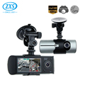 Dual Lens Vehicle Blackbox Dvr User Manual Available,1080P Car Front And Rear Camera