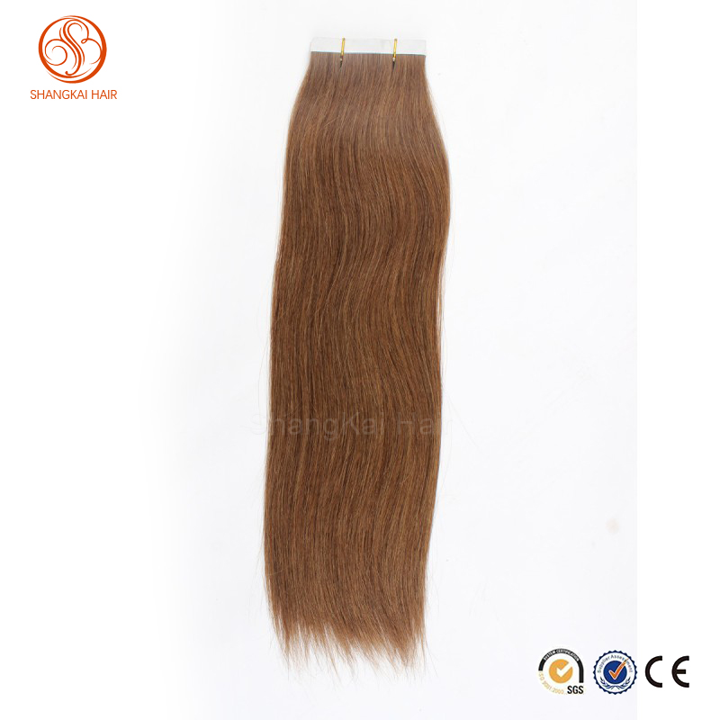 Cheapest price brazilian/indian/chinese remy human hair pu tape skin weft