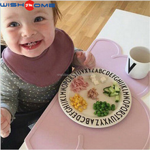 JianMei brand Best Selling FDA Clouds Baby Silicone Mat