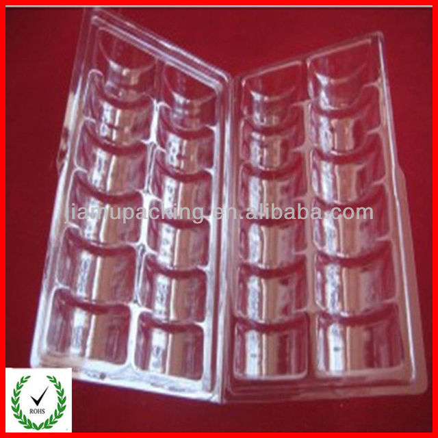 Customized biodegradable disposable clamshell packaging