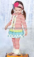 Sweetheart TongPin Han edition new children's wear in the summer Pure cotton two-piece virgin suit of the girlsthing