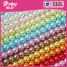 Wholesale colored pearls 3-24mm abs pearls for crafts beaded jewelry