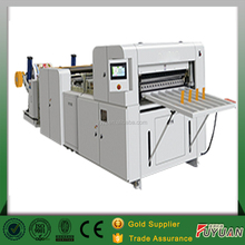 Automatic a4 size jumbo roll paper cutter with conveyor belt transport paper