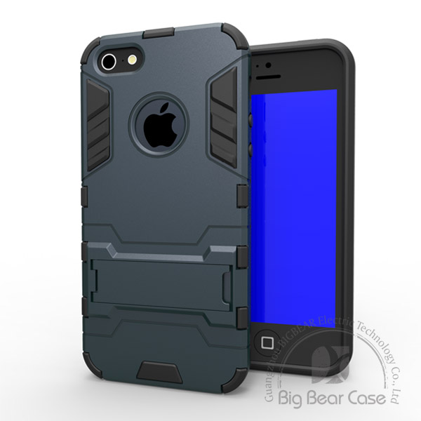 2015 China wholesale pc tpu armor case for iphone 5