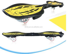 2 wheels wave street surfing rocking carve board vigor skate board