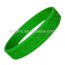 Sports give away gifts plastic bracelet