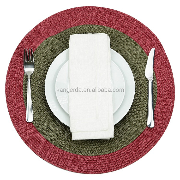 Round Polypropylene Table Placemat