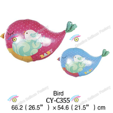 2016 bird shaped foil balloon china wholesale animal shaped foil balloon