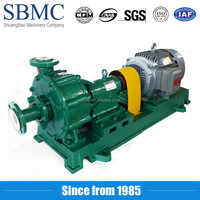 ISO standard solid waste treatment centrifugal pump for water multistage