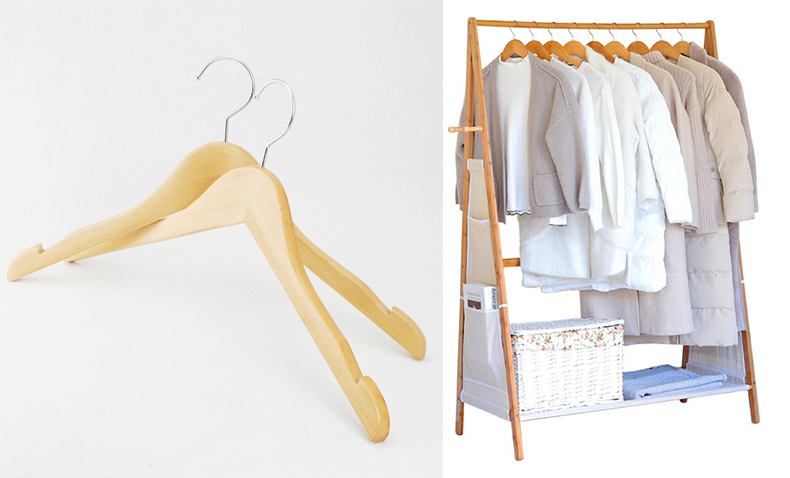 Online Shop China Clothes Hanger Customized